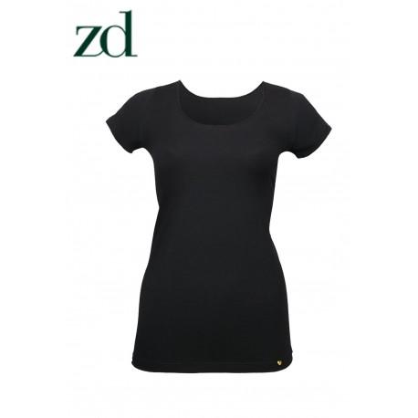 T-shirt manches courtes fil de soja ZD