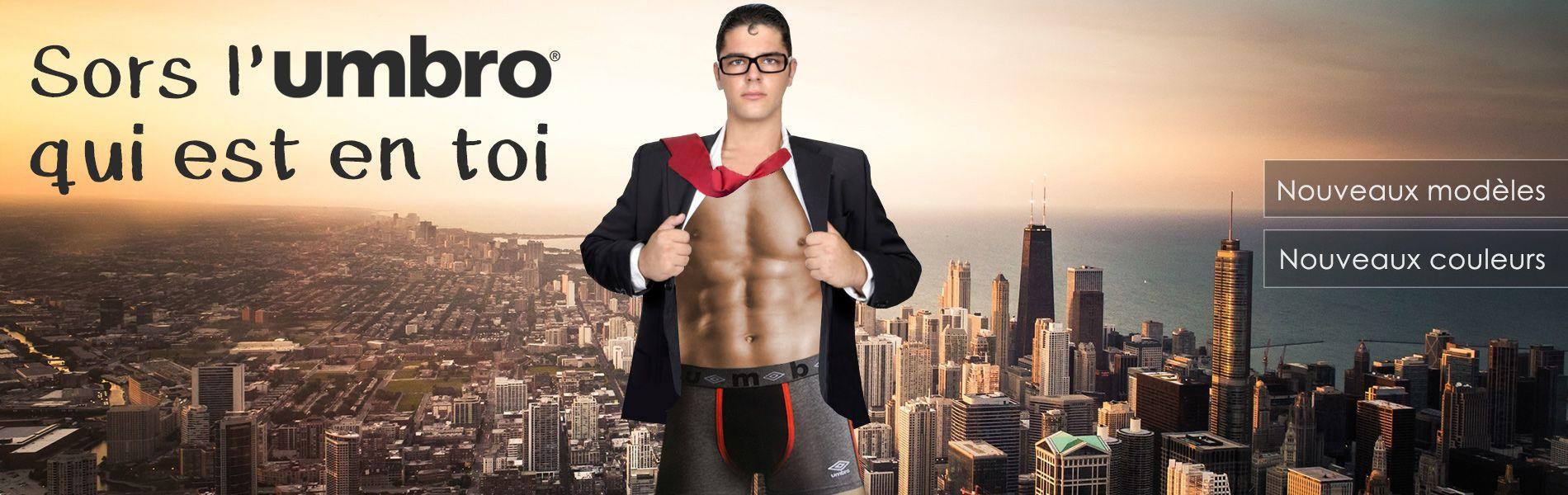 Sous-vêtements pour homme Umbro